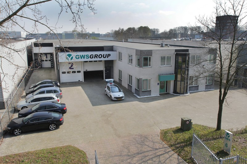 GWS Printing Systems building in Waalwijk, The Netherlands